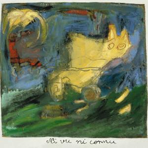 Ni vu ni connu, 2001, huile sur papier fait main, 35 x 33