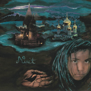 Nuit, 2001, médias mixtes sur papier, 18'' x 24''