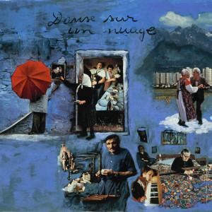 Danse sur un nuage, 2001, médias mixtes sur papier, 18'' x 24''